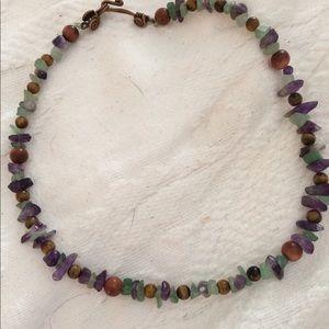 Jewelry - Beautiful multi stone choker